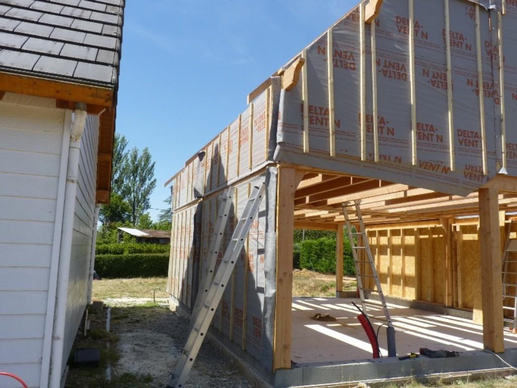Lycée George Sand La Ch u00e2tre Nouveau chantier des bac pro constructeurs bois # Bac Pro Technicien Constructeur Bois