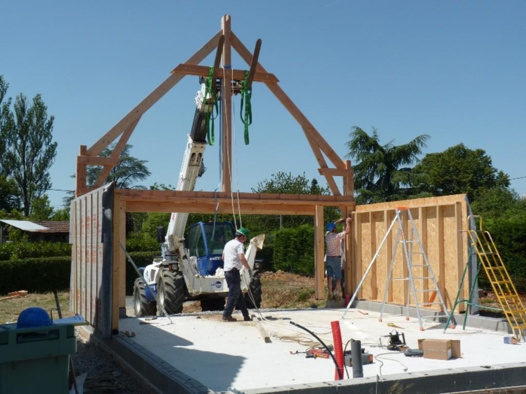 Lycée George Sand La Ch u00e2tre Nouveau chantier des bac pro constructeurs bois