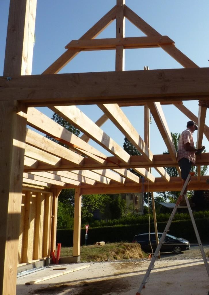 Lycée George Sand La Ch u00e2tre Nouveau chantier des bac pro constructeurs bois # Bac Pro Constructeur Bois