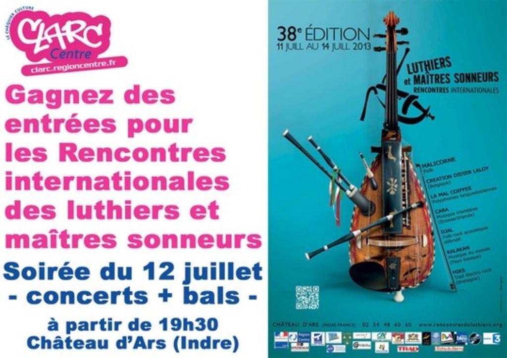 rencontres internationales de luthiers et maîtres sonneurs